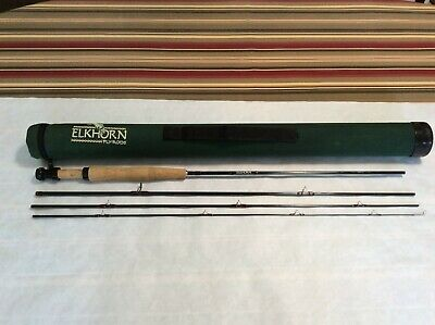 $169.99 • Buy ELKHORN TRAVELER SERIES 8'0  2/3WT 4 PC. FLY ROD With ROD TUBE AND SOCK