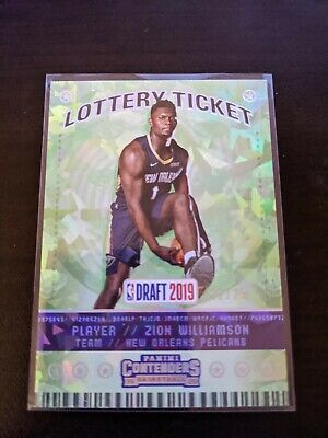 $799.95 • Buy ZION Williamson 2019-20 Contenders Lottery Ticket Cracked Ice #21/25 Pelicans