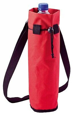 RED Ice Bag Cool Wine Bottle Cooler Holder Picnic Outdoor Camping Festivals NEW • 5.49£