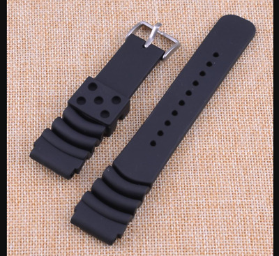 $ CDN13.78 • Buy Mens Watch Divers Band Sport Rubber Strap 22mm For Seiko Skx007 Skx007k2