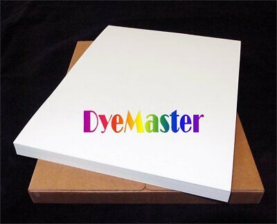 DyeMaster Sublimation Paper For Ricoh/Epson Printer, 8.5 X 11  Sheets (10 PACK) • 25.52£