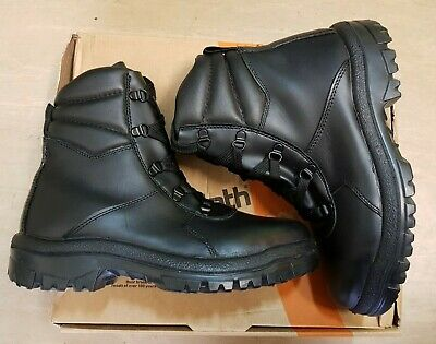 New British Army Issue Goliath YDS Black Steel Toe Mid Tactical Boots Size 6.5M • 34.95£
