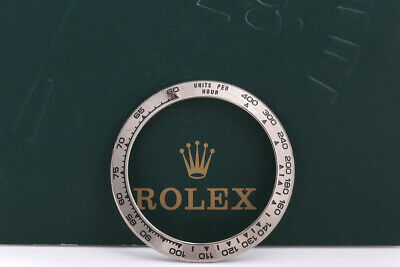 $ CDN1451.04 • Buy Rolex Daytona UNPOLISHED White Gold Bezel For 116529 FCD10103