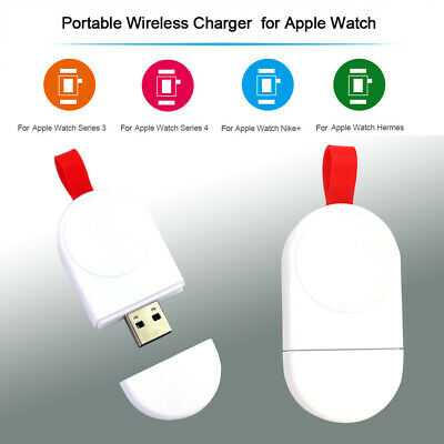$ CDN6.04 • Buy Wireless Charging For Apple Watch IWatch Series 1/2/3/4 Charger USB QI Dock