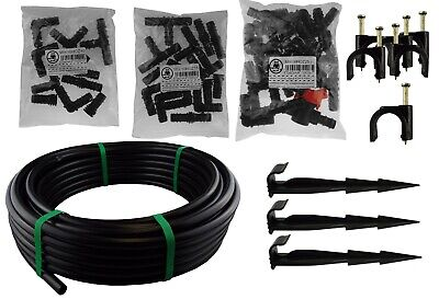 Automatic Watering Garden Irrigation Pipe And Matching Accessories,ldpe Pipe, • 6.35£