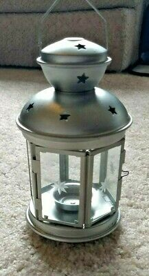 $9.99 • Buy IKEA ROTERA Lantern For Tealight, White Indoor/outdoor SILVER