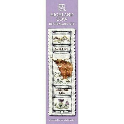 £8.15 • Buy Complete Cross Stitch Bookmark Kit - Highland Cow