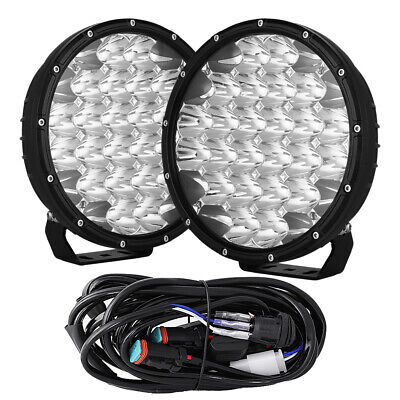 AU102.88 • Buy NEW Spotlights 9inch OSRAM LED Driving Lights Black Offroad Truck SUV 12V 24V