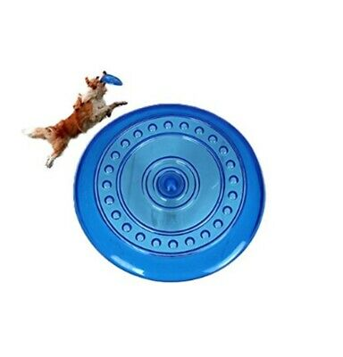 £9.69 • Buy Dog Frisbee Flying Disc Dogs Toy Doggy Fetch Toys Fun Excercise 7.5  Soft Frisby