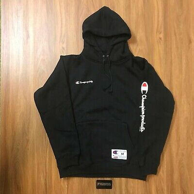 $ CDN314.10 • Buy Supreme X Champion Black Hoodie (Medium)