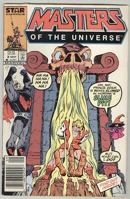 $2.99 • Buy Masters Of The Universe #3 September 1986 VG
