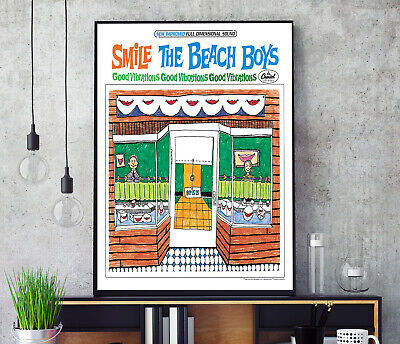 £11.99 • Buy Smile Sessions (by The Beach Boys) Album Cover Poster Professional Grade Print