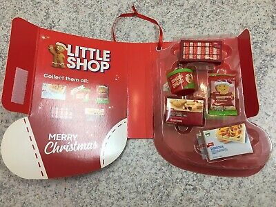 $39.99 • Buy COLES Little Shop Complete Set CHRISTMAS Collector Case NEW Limited Edition RARE