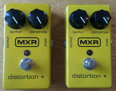 $ CDN160 • Buy MXR Distortion + Guitar Pedals - Lot Of 2 - Used