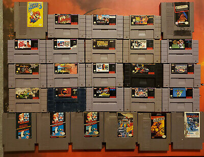 $ CDN148.65 • Buy 39 Snes Super Nintendo & Nes Games Lot Mortal Kombat Mario Super Spy Hunter!