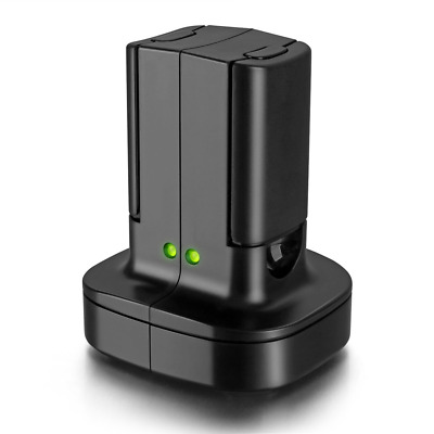 £18.85 • Buy For Xbox 360 2 Pack Rechargeable Battery Pack With Dual Charging Station Dock