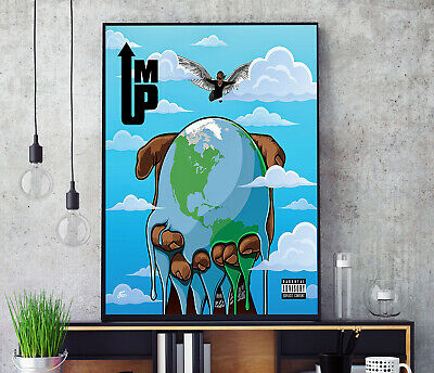 £11.99 • Buy I'm Up (by Young Thug) Album Cover Poster Professional Grade Print HD A3 A4 Wall