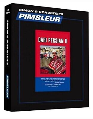 £362.52 • Buy Pimsleur Dari Persian Level 2 (16 CD): Learn To Speak And Understand Like New