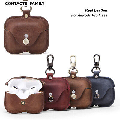 AU19.99 • Buy For Apple AirPods Pro Earphone Retro Leather Wireless Bluetooth Headphone Case