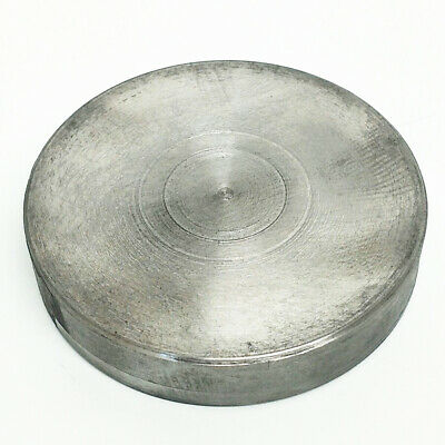 AU35.95 • Buy Plain Plate For 100mm 4 Jaw Independent, 3 Jaw Self Centering Chuck Back Plate