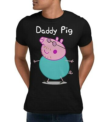Fathers Day T-Shirt Daddy Pig Inspired Men's Tee Shirt Daddy Dad Shirt • 8.99£