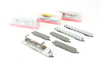 AU678.79 • Buy Marklin Z Gauge 81351 Kamag Transport Train Set