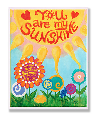 Stupell Home Décor You Are My Sunshine Canvas Wall Art, 16 X 20, Multi-Color • 25.14£