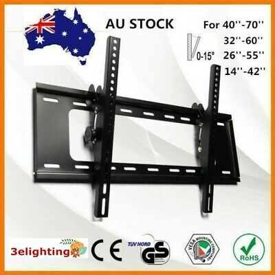 AU22.99 • Buy Universal TV WALL MOUNT BRACKET Plasma Flat Slim 26 32 42 47 50 52 55 60 65 Inch