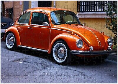 £6.99 • Buy VW Beetle 5 A4 JIGSAW Puzzle Birthday Christmas Gift (Can Be Personalised)