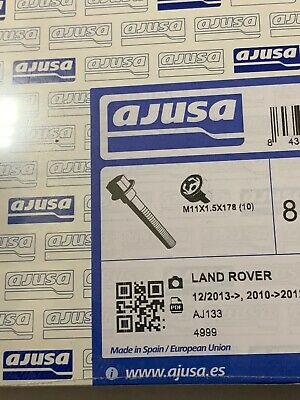 AU142.82 • Buy LAND ROVER CYLINDER HEAD BOLT M11x178 SET X20 LR4 V8 5.0L LR026143 OEM