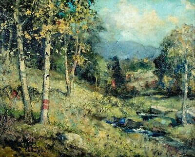 $369 • Buy Charles Buckler (MA,Canada,1869-1953) Oil Painting