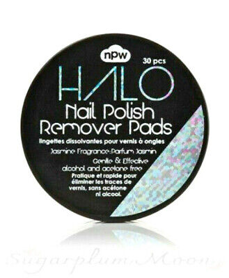 Nail Polish Remover Wipes Pads - Acetone Alcohol Free - Jasmine Scented - NPW • 3£