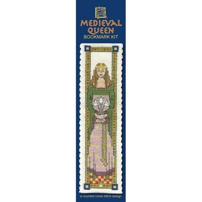 £8.15 • Buy Complete Cross Stitch Bookmark Kit - Medieval Queen Bookmark