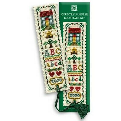 £8.15 • Buy Complete Cross Stitch Bookmark Kit - Country Sampler Bookmark