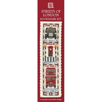 £8.15 • Buy Complete Cross Stitch Bookmark Kit - Streets Of London Bookmark