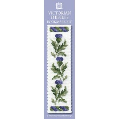 £8.15 • Buy Complete Cross Stitch Bookmark Kit -  Victorian Thistles Bookmark