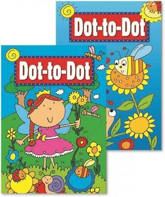 LARGE DOT TO DOT BOOK - CHILDREN'S ACTIVITY BOOK - Educational Fun BOY GIRL • 2.89£