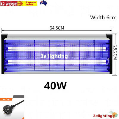 AU26.39 • Buy 40W Electric UV Mosquito Fly Insect Pest Killer Bug Zapper Trap Lamp Inoutdoor
