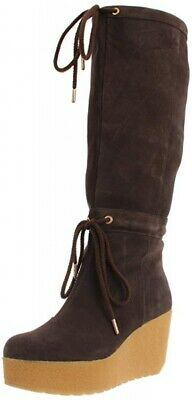 Gorgeous Rockport Women's Cedra Tall Suede Boots Brown Size 8 43 New Rrp £160 • 19.99£
