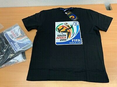 Men's Fifa South Africa 2010 World Cup Tee T-shirt Large New  • 13.99£
