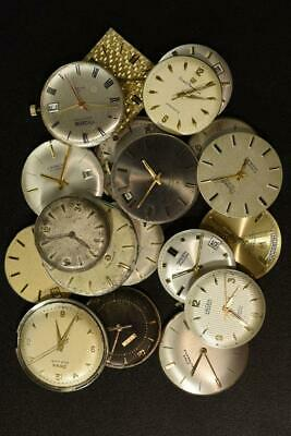 $ CDN144.28 • Buy Vintage Mens Watches Movements Lot Of 19