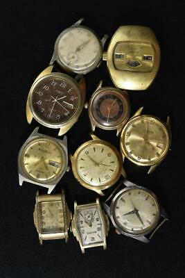 $ CDN24.03 • Buy Vintage Wind-up And Automatic Mens Watch Lot Of 10