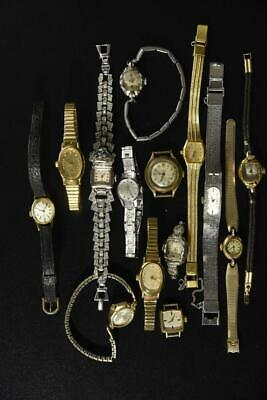 $ CDN35.19 • Buy Vintage Wind-up And Battery Womens Watches Lot Of 14