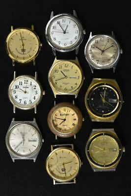 $ CDN12.67 • Buy Vintage Battery Mens Watches Lot Of 10