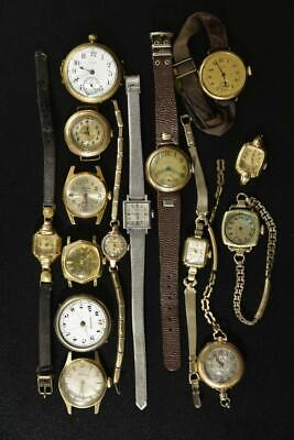 $ CDN32.38 • Buy Vintage Wind-up Mens Watches Lot Of 15