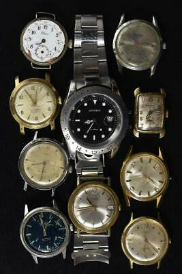 $ CDN7.74 • Buy Vintage Automatic And Wind-up Mens Watches Lot Of 10