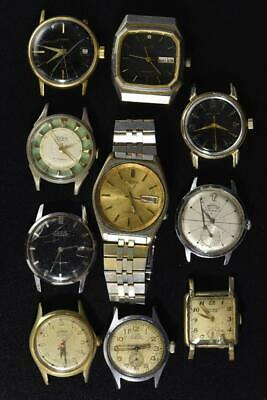 $ CDN36.60 • Buy Vintage Wind-up And Automtic Mens Watches Lot Of 10