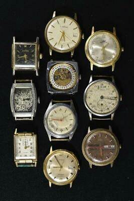 $ CDN9.85 • Buy Vintage Wind-up Mens Watches Lot Of 10
