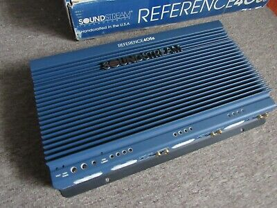 $ CDN790.31 • Buy Old School Soundstream Reference 405S 5 Channel Amp !