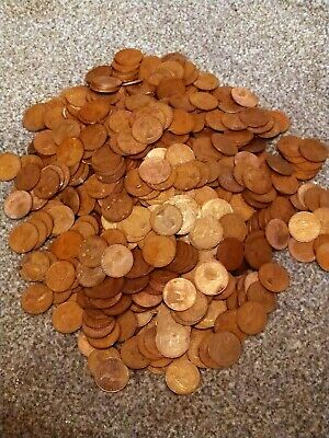 Job Lot Of Old Coins British And Some Foreign. Hundreds Of Coins  • 4.99£